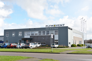 Head office of Plymovent in the Netherlands