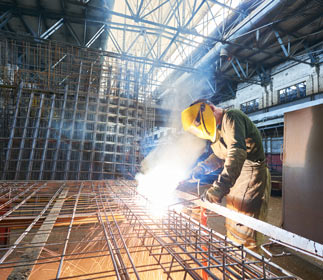 Manual Metal Arc welding (MMA welding) produces a lot of potentially hazardous welding fumes.