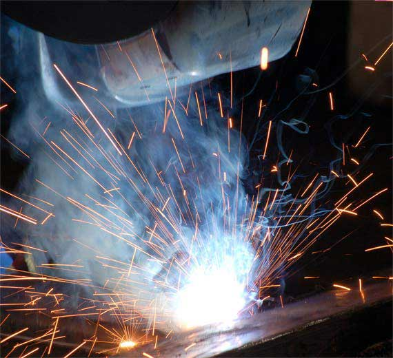 Welding fumes can contain various pollutants, depending on the metal used for welding.